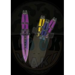 Set 3 couteaux à lancer...