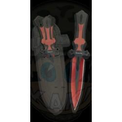 Set 3 couteaux à lancer. 17 cm
