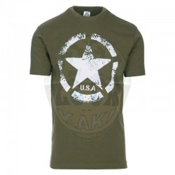 T-shirt Vintage étoil US Army