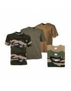 T-shirts, polos, débardeurs