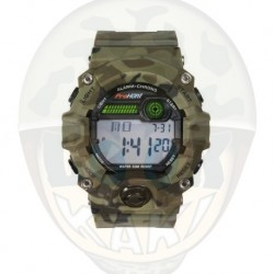 Montre digital camo